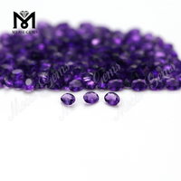 oval cut 3x4mm natural gemstones amethyst stones