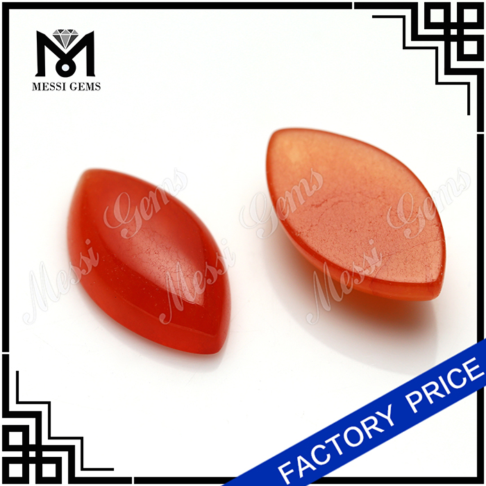 Red malaysian jade natural gemstones red jade stones in cabochon