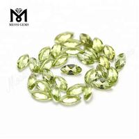 wuzhou loose natural peridot gemstone supplier