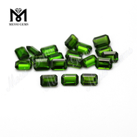 Hot Sale High Quality Emerald Cut Chrome Diopside Natural Gemstone