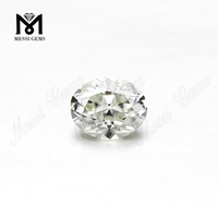 Oval cut 10 x 8 mm ij color vs china moissanite diamond
