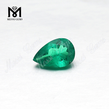 Pear Cut Lab Created Hydrothermal Colombia Emerald