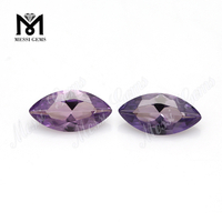 46# marquise shape lab created corundum loose gems