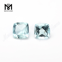 China Cushion Cut Aquamarine Gemstone Precious Stones