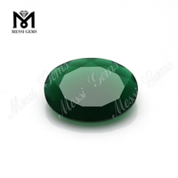 Hot Sell Price Agate Beads Oval Cut Gemstone Green Brazil Agate Stone