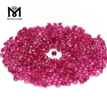 1.25mm Small Size 5# Red Corundum Gemstone Large Stock Ruby Stone Price