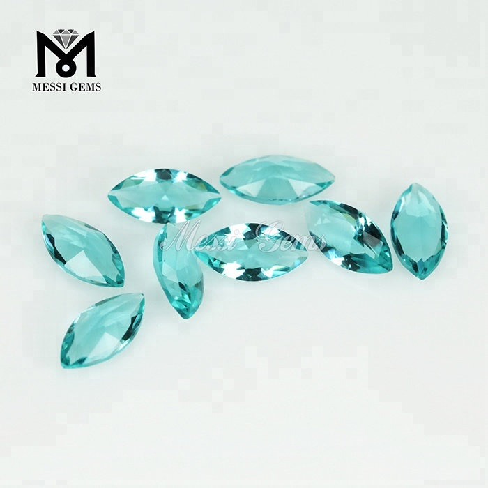 Machine Cut Loose Gems Faceted Marquise 3 x 6mm Clear Crystal Glass Stone