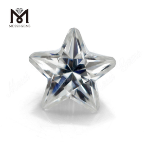 Wholesale fancy shape five-pointed star cut def color 1ct moissanites gemstone