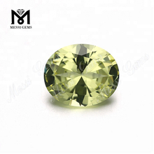 #10 high imitation gemstones peridot nanosital stones from Russia