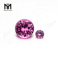 Machine Cut Round Cut Color Change Nanosital Crystal Gemstone