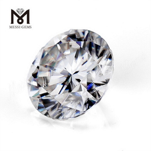 4 carat 10mm Round DEF synthetic loose white moissanite solitaire
