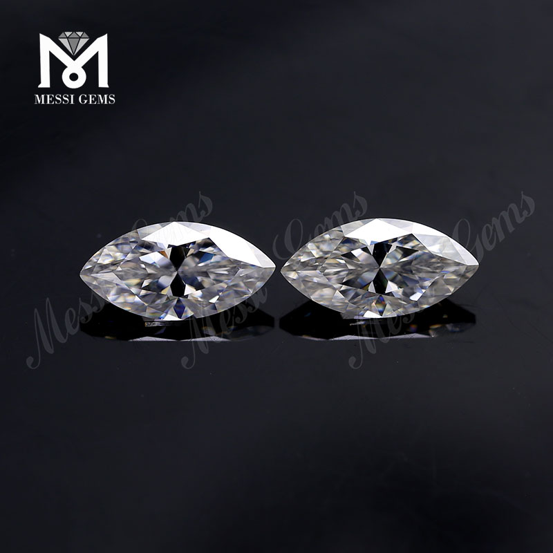 Factory loose brilliant marquise shape def moissanites diamond