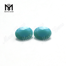 Jewelry bead loose oval cut 6x8mm turquoise nano stone price