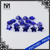 wholesale star cut blue sapphire synthetic spinel gemstone