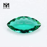 High Quality Wholesale Paraiba Color Marquise Cut 15 x 30mm Gemstone Glass Stone