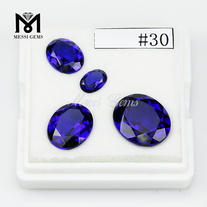 Heat resistant nanosital #30 Color change blue nanosital stone