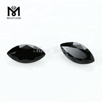 Loose Marquise 3.5 x 7 mm Machine Cut Natural Black Spinel Stone Price