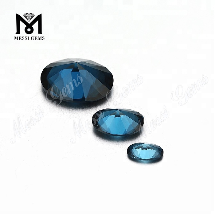 Heat Resistant London Blue Nanosital Gemstone 48# Nanosital Stone