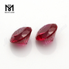 synthetic 5# corundum round brilliant cut wholesale ruby stone prices