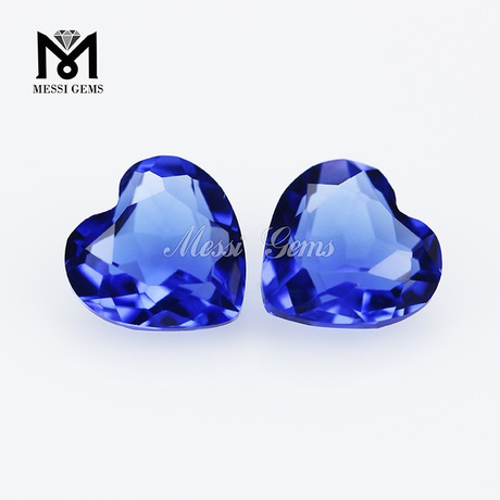 Popular cutting gemstone faceted glass gems, bulk glass gems