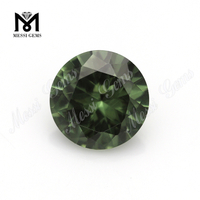 Wholesale Round 10.0mm 149# Green Spinel Synthetic Green Spinel Rough