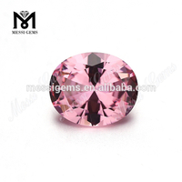 wholesale Oval 10x12MM gemstone pink Nanosital