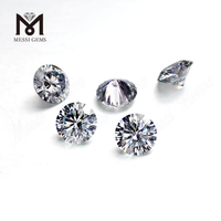 DEF 1mm-2.5mm factory loose super white moissanite diamond stone