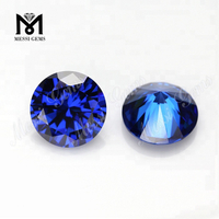 Wholesale Factory Price Cubic Zircon Stone Synthetic Sapphire Blue CZ Stone
