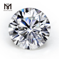 9.0MM DEF COLOR 3 CARAT moissanite diamond