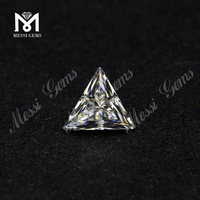 Triangle shape loose moissanites VVS Wholesale