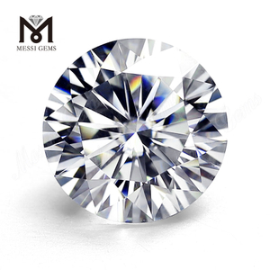 4ct moissanite diamond loose price China DEF round brilliant cut moissanite super white