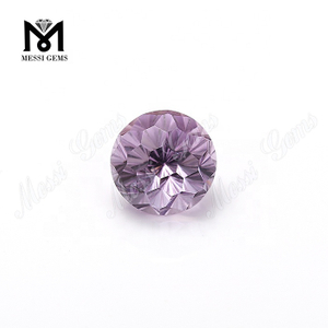 Wholesale price natural amethyst 14mm fancy shape Flower cut amethyst loose gemstone
