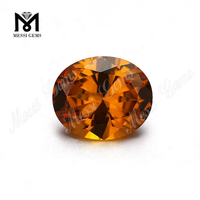 Hot Sale 10*12mm Oval Citrine Color Nanosital Stone