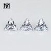 Wholesale Triangle 6.5 x 6.5 mm White Cubic Zirconia Stone