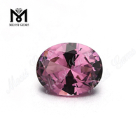 factory loose color changing 205# pink russian nanosital rough gemstone