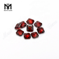 Wholesale Octagon Shape Natural Garnet Beads Price