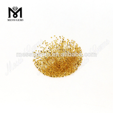 wholesale price Round 1mm natural citrine crystal stone