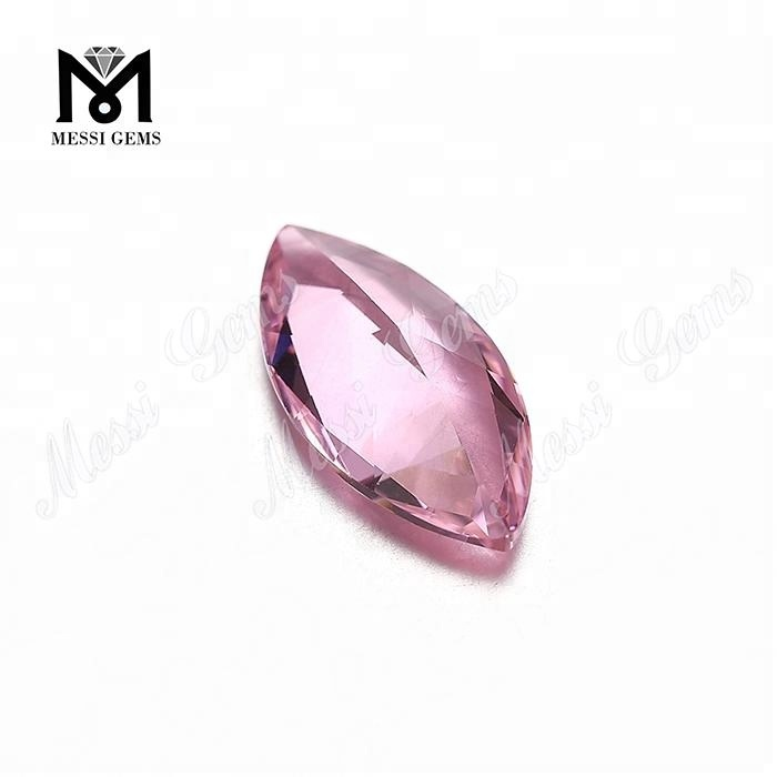 Wholesale Marquise Cut #A1255 Color Changing Pink Nanosital Crystal Stone