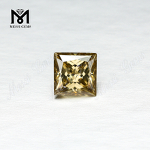 Wholesale Price High Quality Princess Cut Yellow Loose Moissanites For Ring