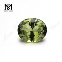 Wholesale #14 olive nano sital gemstone synthetic nanosital stone