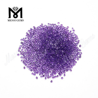 Bulk wholesale natural 1.5 mm round amethyst loose gemstone price
