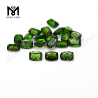 Wholesale Price High Quality Cushion Cut Rough Loose Gemstone Chrome Diopside