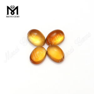 Pear 5x7mm Cabochon Gemstones Loose Natural Citrine Quartz