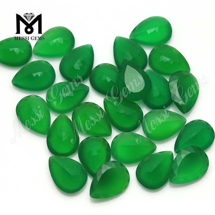 Low Price Gemstone Beads Good Polishing Agate Beads Green Agate