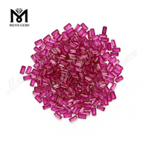 Wholesale Ruby Red 2 x 4mm 5# Ruby Corundum Beads