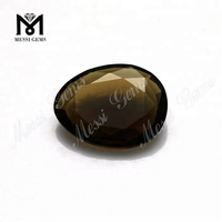 Amber glass stone cheap price color glass gemstone decoration