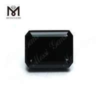 Loose Factory Price Octagon Cut moissanite diamond Price Gemstone Black Moissanites For Ring