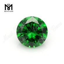 Large stock synthetic round green cz cubic zirconia