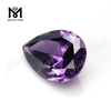 Wholesale 15MMx20MM Amethyst color loose cubic zirconia cz stone