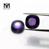 10mm cushion cut cabochon cubic zirconia amethyst loose stones